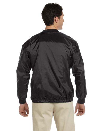 Harriton - Blouson - Duffle coat - Homme -  Noir - XXXX-Large