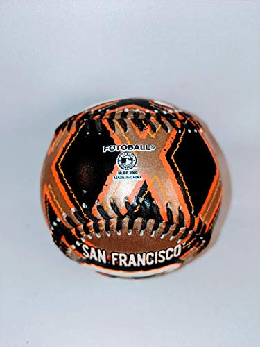 2002 SF Giants Black Gold Orange Fotoball San Francisco Baseball