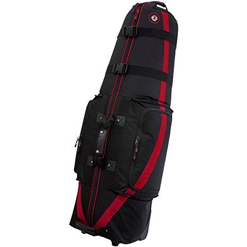 GOLF TRAVEL BAGS MEDALLION 6.0 BLACK/RED (Medallion Travel Bag)