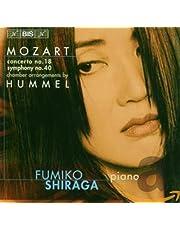 Mozart, Wolfgang Amadeus: Piano Concerto No. 18 - Sympho