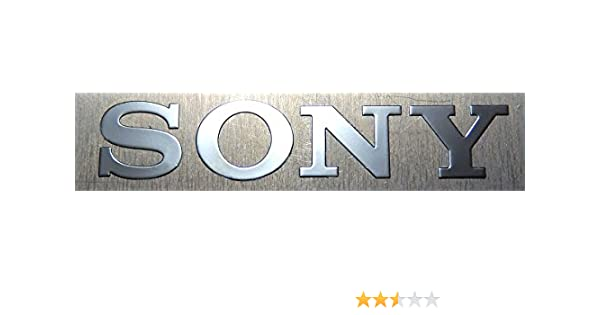 Amazon com sony metal sticker emblem badge 6 x 35mm 572