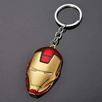 Amazon.com: Avengers Capitán América Iron Man - Llavero de ...