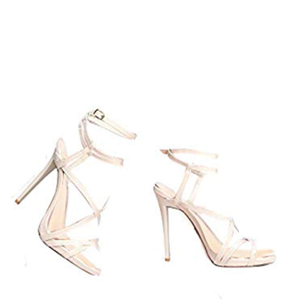 8b4899d588f2 Qupid GLADLY-11 Strappy High Heel Sandal  Amazon.co.uk  Shoes   Bags