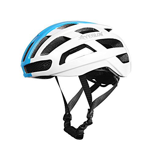 Adult Road Bike Helmet Aero Cycling Helmet Bicycle Helmets for Men White