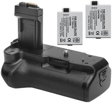 Empuñadura de batería Opteka/disparador Vertical para Canon EOS ...
