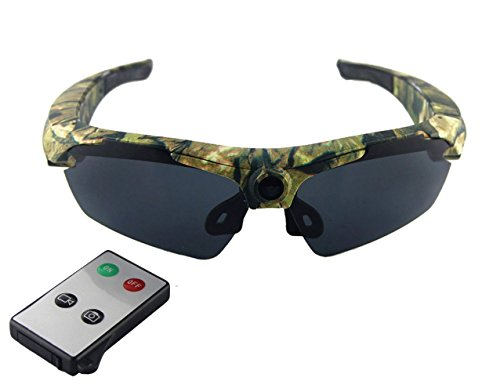 JOYCAM Polarized Sunglasses Camera Video Recording UV400 Glasses HD 720P DVR Camcorder with Remote Control - Video With Sunglasses Remote