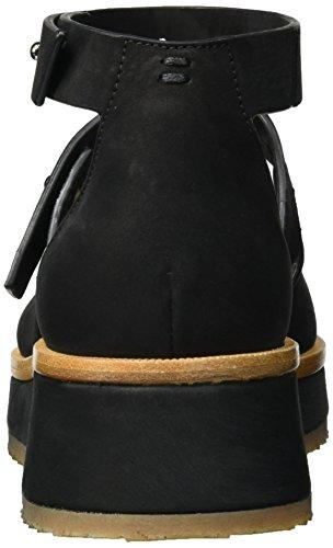 Sternes Ladies Shoe Vivian Cinturino Alla Caviglia Nero (nero)