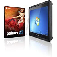 Corel Painter X3 & Modbook Pro [Windows] 2.3GHz i5, 8GB RAM, 1.7TB Mobile Storage, FW800 Shuttle