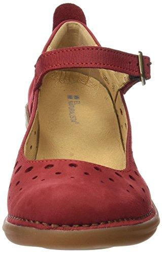 El Naturalista N5320, Scarpe col Tacco Punta Chiusa Donna Rosso (Tibet)