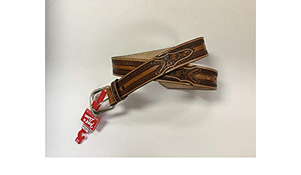 Tony Lama Men/'s Tan The Wild Bill Belts C42514