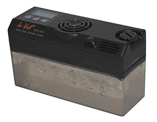 Le Veil Dch-12v2 Digital Cigar Humidifier W/extra Tank by Le Veil