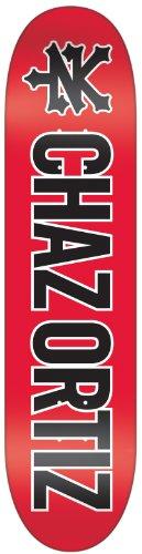 Zoo York Chaz Ortiz Three-Peat Skateboard Deck (7.75 x 31.39-Inch)