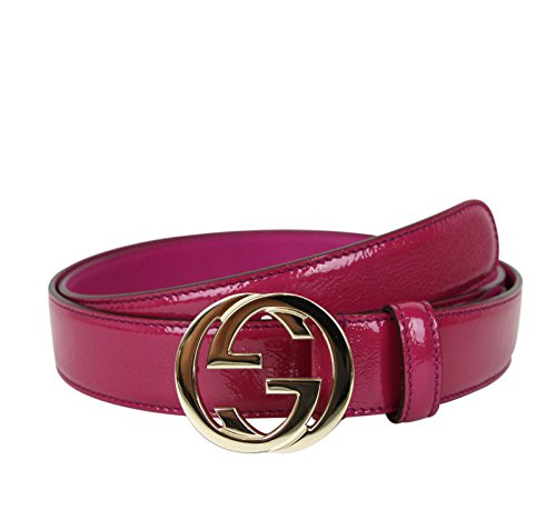 Gucci Buckle Interlocking G Belt 114874  - Gucci Pink Shopping Results
