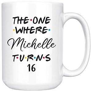 Personalized Sweet 16th Birthday Mug