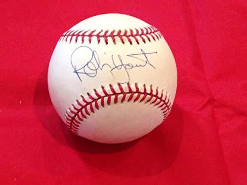Robin Yount Autographed Baseball - Hof Ah Loa 1c - JSA Certified - Autographed ()