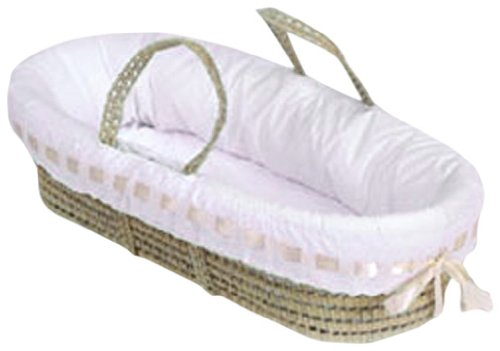 Baby-Doll-Bedding-Pretty-Ribbon-Moses-Basket