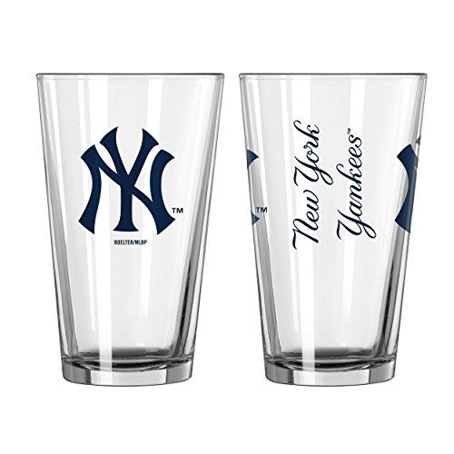 MLB Baseball New York Yankees 16 Ounce Gameday Pint ()