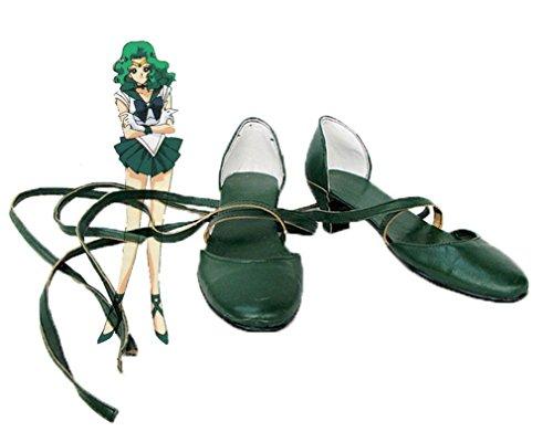 Bromeo Sailor Moon Sailor Neptune Michiru Kaioh Cosplay Chaussure