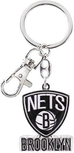aminco NBA Brooklyn Nets Team Color Camo Lanyard