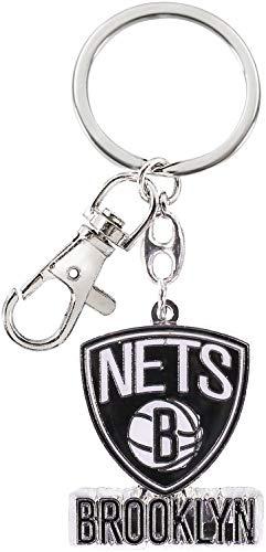 aminco NBA Brooklyn Nets Heavyweight Keychain