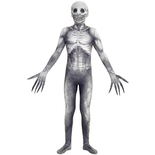 Morphsuits The Rake Urban Legends Kids Morphsuit Costume - size Medium 3'6-3'11 (105cm-119cm) Costume, Black -
