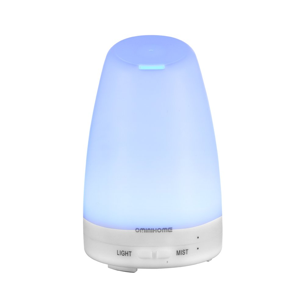 Ominihome Essential Oil Diffuser - 120ml Portable Cool Mist Ultrasonic Aroma Humidifiers - For Home, Work, Travel, College Graduation Gift