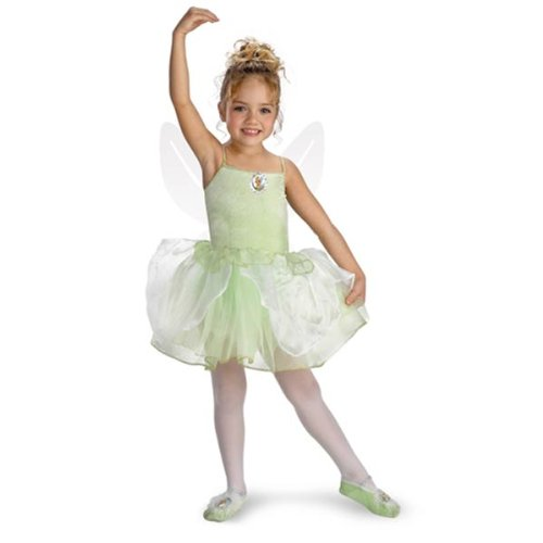 Girls Tinker Bell Ballerina(4 To 6-As Shown) Child Tinkerbell Ballerina