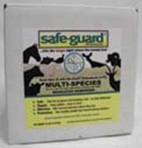 Merck Animal Health 184306 Safe-Guard 0.50% Multi-Species Dewormer, 10 lb by Merck Animal Health