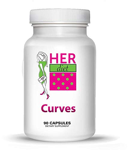 Curves Breast - HERdiet Curves for Women Breast Size Enhancement Pills for Fuller Larger Breasts Without Surgery. Curves is All Natural and Safe!