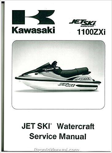 99924 1195 04 1996 2002 Kawasaki 1100 Zxi 1999 1100 Stx Jet Ski Factory Service Manual By Author Amazon Com Books