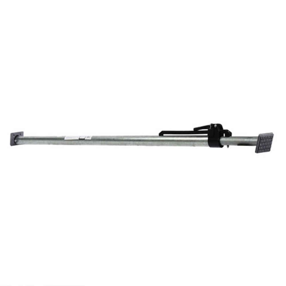 Adjustable Cargo Load Bar for Interior Van Trailers and Semi Trailers | Long Ratcheting Cargo Bar with Pads