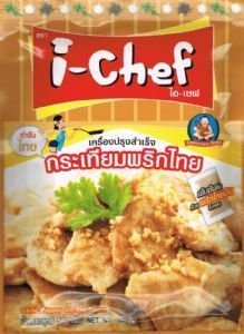 I - Chef Thai Garlic and Pepper Stir-fry Sauce 50g From Thailand