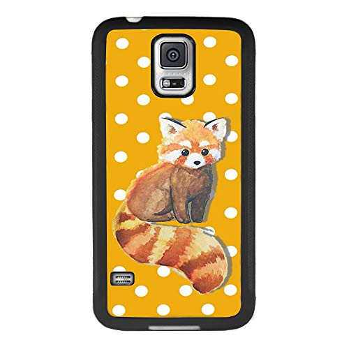 Ximalaya Raccoon Samsung Galaxy S5 Case, TPU Anti-Drop Reduction Friction Phone Case Raccoon for Samsung Galaxy S5 (S5 Case Galaxy Raccoon Samsung)