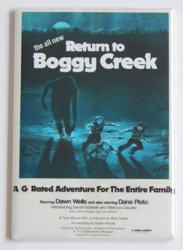 Return to Boggy Creek Movie Poster Fridge Magnet (2 x 3 inches)
