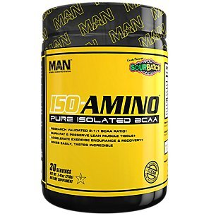 MAN Sports 30/Servings Sour Batch Kids Iso-Amino, 7.41 Ounce For Sale