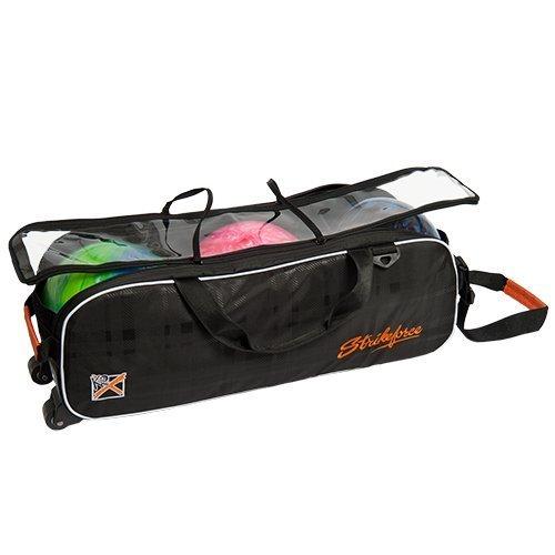 KR Strikeforce Krush Slim Triple No Shoes Bag, Black/Orange by KR