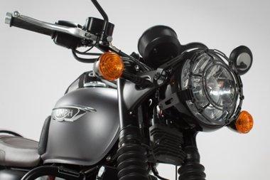 SW-MOTECH: ヘッドライトグリル Black Bonneville T120 (15-)/Thruxton1200 [並行輸入品] B076V6DKKW