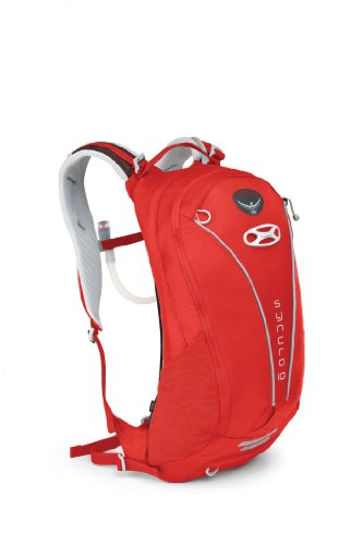 Osprey Packs Syncro 10 Hydration Pack with Reservoir (Pyro Red, Small/Medium), Outdoor Stuffs