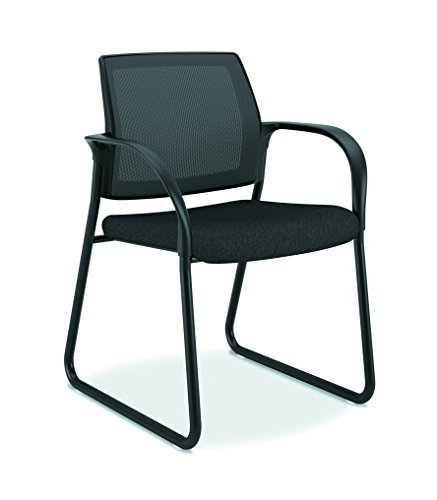 HON Ignition Guest/Multi-Purpose Sled Base Chair with Mesh Back, ()