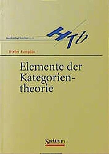 Elemente der Kategorientheorie