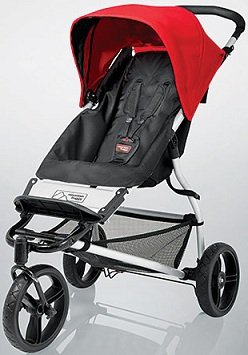 Amazon.com : Mountain Buggy Evolution Mini CHILLI Light 3 Wheel ...