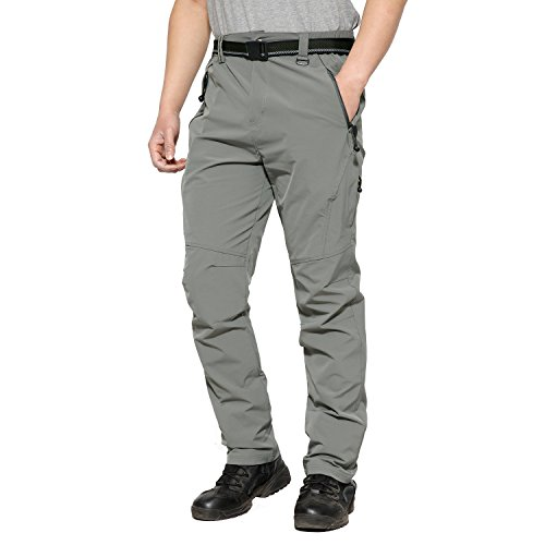 MAGCOMSEN Pants Hiking Men Stretch Outdoor Hiking Fast Dry Mountain Windproof Trousers