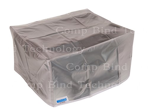 Printer Dust Cover for Canon Color ImageCLASS MF733Cdw Laser Printer Clear Vinyl Anti-Static Dust Cover By Comp Bind Technology Size 18.5''W x 18.5''D X 18.1''H -  CB3838