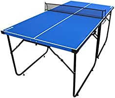 Mesa de ping-pong de IFOYO de 1,8 m, 4 piezas plegables, portátil ...