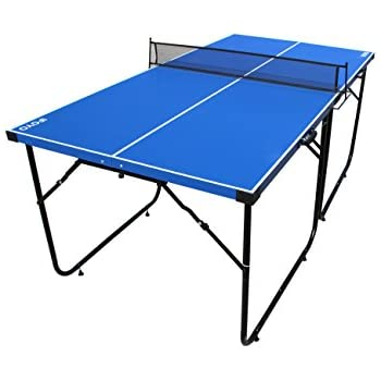 Marvelous IFOYO Table Tennis Table, 6ft Midsize Ping Pong Table 4 Piece Folding  Portable Indoor