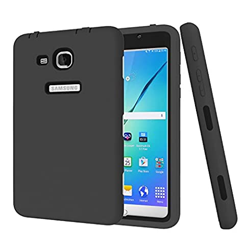 Samsung Galaxy Tab A 7.0 Case, Jeccy 3in1 Full-body Shock Proof Hybrid Heavy Duty Armor Defender Protective Case, Silicone Skin Hard Plastic Case for Samsung Tab A 7 (SM-T280 / (Ipad Fourth Generation Case Speck)
