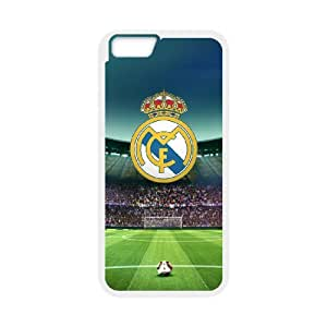 Real Madrid Phone Case And One Free Tempered-Glass Screen Protector For iPhone 6,6S 4.7 Inch T278223