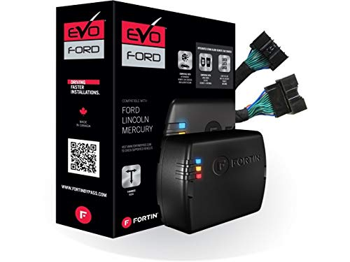 Fortin EVO-FORT3 Stand-Alone Add-On Remote Start Car Starter System for Ford Flip Key and Push-to-Start Vehicles