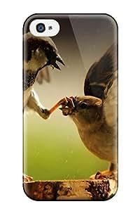 Barbauller Slim Fit Tpu Protector JWMDmDp2472ZSpyZ Shock Absorbent Bumper Case For Iphone 4/4s