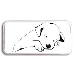 Comfortable & Beautiful Patterns Apple iPhone 6 Dog Paws Print And Bone Case Skin Cover,Transparent Soft Back Cover For Iphone 6 5.5 inch